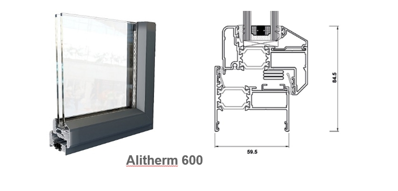 Alitherm 600 Trade Aluminium Windows In Ipswich Clacton