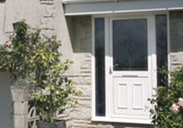 Visofold 1000 aluminium bi folding doors supplied to trade for Residential back doors
